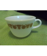 Corelle (3)  Butterfly Gold Pattern Closed Handle Cups - Vintage - $20.00