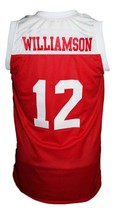 Zion Williamson Spartanburg Day School Basketball Jersey New Sewn Red Any Size image 2