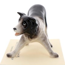 Hagen-Renaker Miniature Ceramic Dog Figurine Border Collie