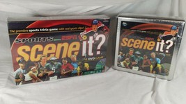 Scene It ? DVD  Sports Powered By ESPN lot of 2 NEW Base Game & Collector's Tin - $19.99