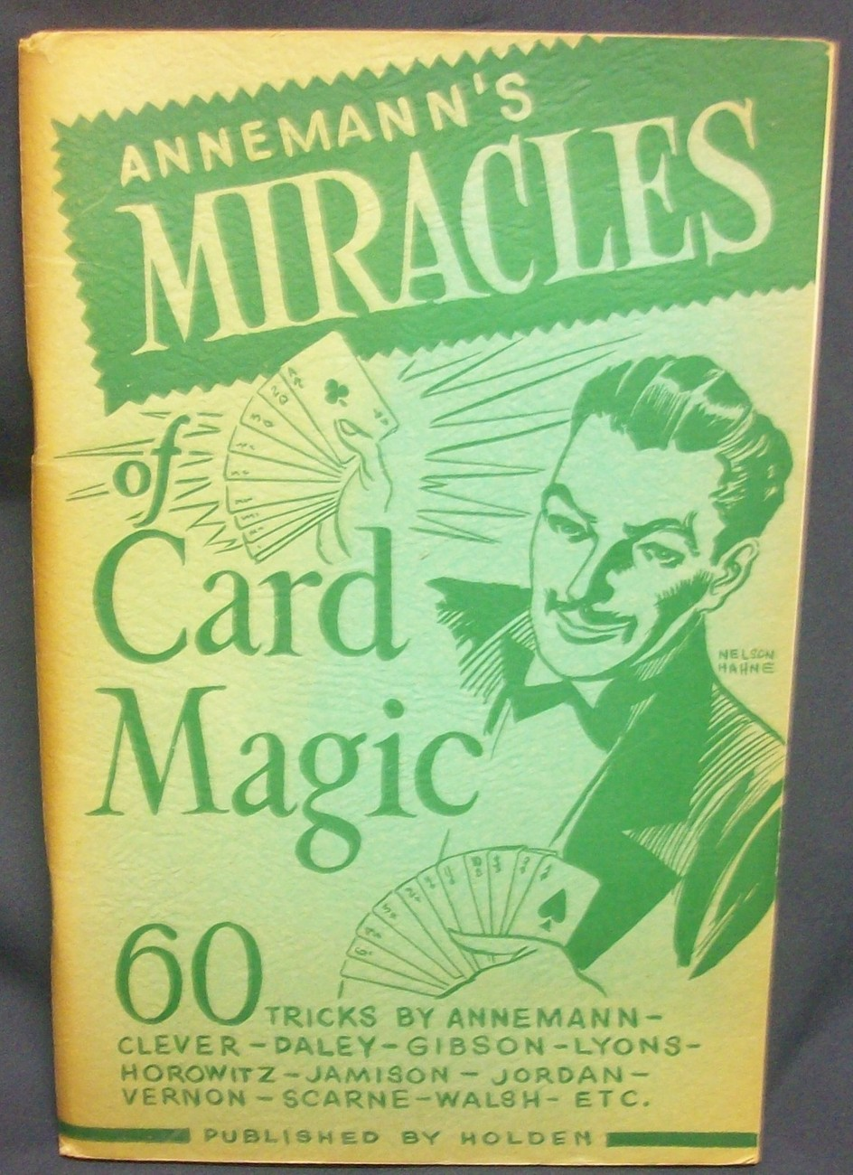 Primary image for Annemann's Miracles of Card Magic