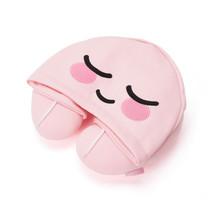 KAKAO FRIENDS Character Hoodie Neck Pillow APEACH Official Goods - €37,79 EUR