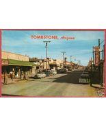 TOMBSTONE ARIZONA Allen St Rose Tree Inn Cars Petley PC - $6.00