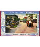 LOS ANGELES CALIFORNIA Olvera St Mexican Linen CA - $6.00
