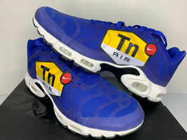 NEW SIZE 8 Nike Air Max Plus TN Tuned 1 NS GPX Big Logo Blue MENS RUNNIN... - $108.89