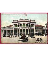 LONG BEACH CALIFORNIA Bath House Bathers People 1909 CA - $7.50