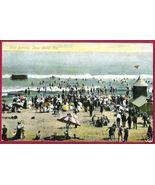 LONG BEACH CALIFORNIA Surf Bathing Beach People CA - $10.00