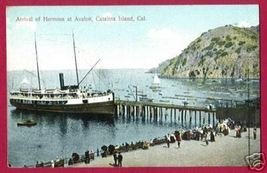 CATALINA ISLAND CALIFORNIA Hermosa Avalon Ship CA - $10.00