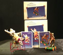 Hallmark Handcrafted Ornaments Toymaker Santa and a Pony for Christmas AA-191779 image 7