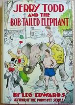 Jerry Todd and the BOB-TAILED ELEPHANT Leo Edwards reproduced dust jacket - $24.00