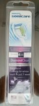 Philips HX6064 White Sonicare DiamondClean Standard toothbrush heads 4-c... - $23.26