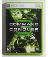Command & Conquer 3: Tiberium Wars (Microsoft Xbox 360, 2007) COMPLETE - $9.89