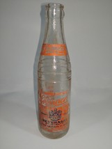 1941 Skinners Brand 7 oz ACL Soda Bottle Vintage 202-A Rare - $11.51