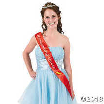 """Red """"Homecoming Queen"""" Sash - $6.36"""