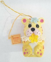 Tattle Tails Puppy Dog Bell Porcelain Christmas Tree Ornament Giftco Vin... - $9.95