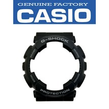 Genuine CASIO Watch Band Bezel Cover GA-100-1A2 GD-120LM-1A Black shell - $20.45