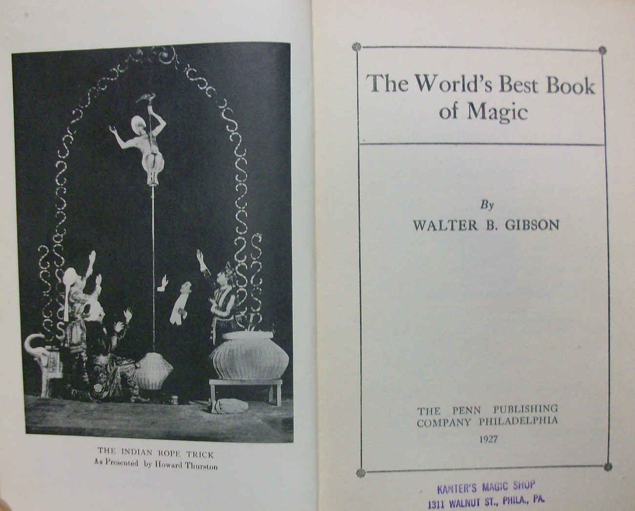 Primary image for The Worlds Best Book of Magic by Gibson, Walter