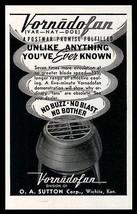 Vornadofan 1946 AD Floor Cylindor Fan More Circulation Range Modern Desi... - $9.99