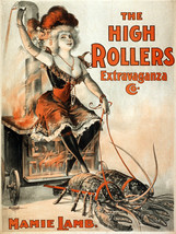7938.Decoration Poster.Home Room wall fashion art design.High Rollers lo... - $11.30+