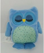 Owl Friend Microwaveable Plush Heat-able Lavender aromatherapy blue comf... - $17.81