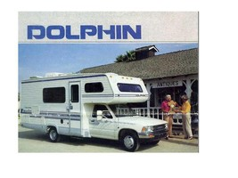 Dolphin Motorhome Operations Ac + Furnace Manuals * 610pgs For Toyota Rv Service - $24.99