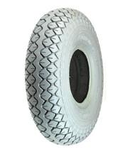 "X1) 3.00-4 C154 Foam-Filled Gray Tire 10""X3"" 260X85 mobility scooter Cheng-Shin - $46.00"