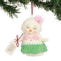 Bikini Body Christmas Holiday Ornament Snowpinions Beached Collection - $43.76