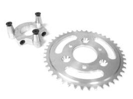 56 Tooth Sprocket for Non-Free Wheel Heavy Duty Axle Kit 80CC Gas Motorized Bicy