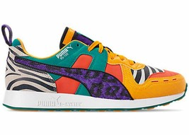Mens Puma RS-100 Animal Puma White Zinnia Cherry Tomato 368265-01 - $94.99
