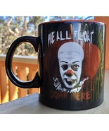 PENNYWISE IT We All Float Down Here Tim Curry Coffee Mug 20oz Horror - $27.72