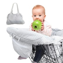Baby Shopping Cart Cover Kids Toddler 2 in 1 Universal Highchair Seat Pr... - $50.29