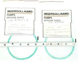 LOT OF 2 NEW INGERSOLL-RAND 2584A40X36SB001-NTL/SYN GASKETS 60636628