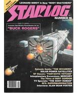 Starlog Magazine #16 Buck Rogers Art Cover 1978 FINE - $5.48