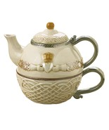 Grasslands Road Celtic 16-Ounce Claddagh Stacking Tea For One Teapot wit... - $30.31