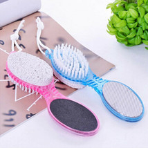 4 in1 Foot Pumice Stone Dead Skin Remover Brush Pedicure Grinding Tool Foot Care - $6.79