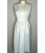 Vintage Olga Dress Slip Ultra Liner Sz 34 Beige Knee Length Non Cling NWT  - $49.49