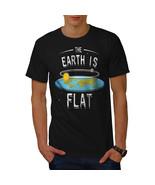 Flat Earth Movement Mens T-shirt - $15.99+