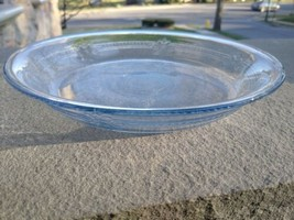 "Vintage Fire King Philbe  Glass Pie Plate Baking Dish 8 3/8"" - $7.99"
