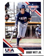 Bobby Witt Jr. 2020 Panini Stars & Stripes Card #88 - $2.00