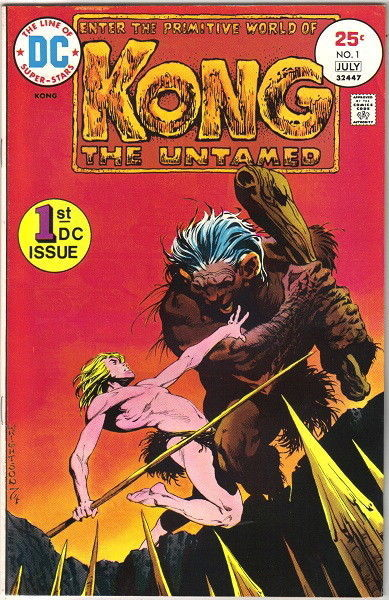 Kong The Untamed Comic Book #1 DC Comics 1975 VERY FINE