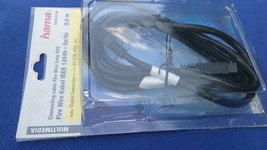 HAMA CABLE FIREWIRE 800/800 9-PIN TO 9-PIN 2.0 M BLACK NOS - $12.89