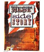 WEST SIDE STORY Movie Poster 1973 Cinema Art Zdenek Ziegler Graphic Design - $246.00