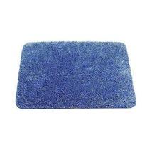 Tinta Unita Decorazione Blu Oro Tappetino per il Bagno da Tappeto W50 x ... - $28.56