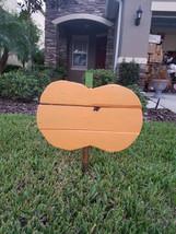 Handmade outdoor Pumpkin Yard Art - Free Shipping - €40,00 EUR
