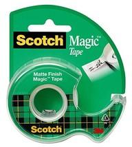 Scotch Magic Tape with Dispenser, 3/4 x 650 Inches 122 - $4.15