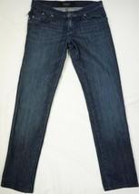 Rock & Republic Berlin Womens Dark Wash Studded Skinny Jeans Size 26 - $13.78
