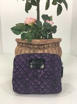New Coach Taylor Purple Nylon Snake Print Folding Tote Bag F66596 B27 - $79.19