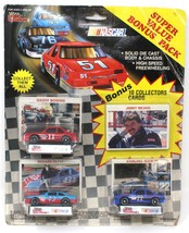 Racing Champions BONUS PACK NASCAR Cars BODINE PETTY MAST W/ COLL. CARDS - $11.61