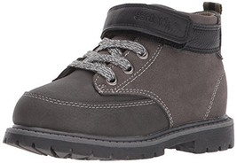 Carter's Boys' Pecs Fashion Boot, Grey/Black, 11 M US Little Kid - $837,73 MXN