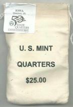 2004-P State Quarter - IOWA - $25 MINT SEWN BAG - $41.95